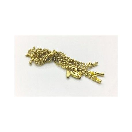 Key Chain Ball chain 2.5mm 10cms with connector